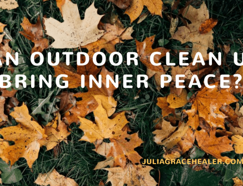 Can Outdoor Clean Up Bring Inner Peace?